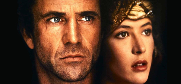 Isabel of France, played by Sophie Marceau, the beautiful gala actress, in the Mel Gibson Braveheart movie.
