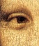 La Gioconda, ojo derecho