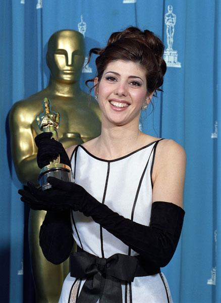 """Marisa Tomei. Oscar a la Mejor Actriz Secundaria por """"Mi primo Vinny""""."""