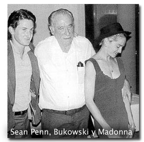 Sean Penn Bukowski y Madonna