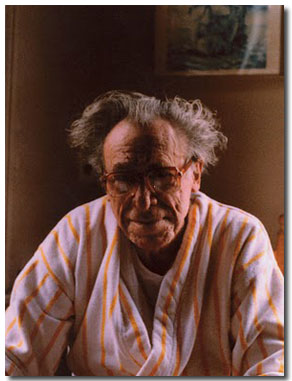 Charles Bukowski anciano