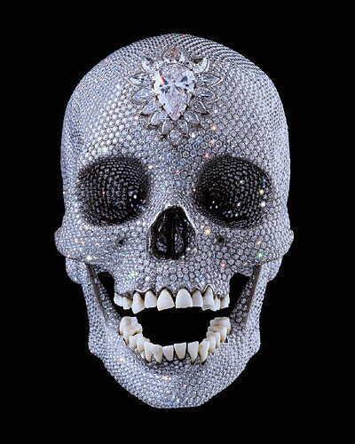 Cráneo de Damien Hirst