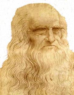 Leonardo Da Vinci, retrato