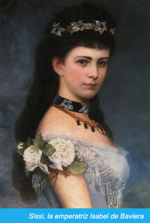 La emperatriz Isabel de Baviera
