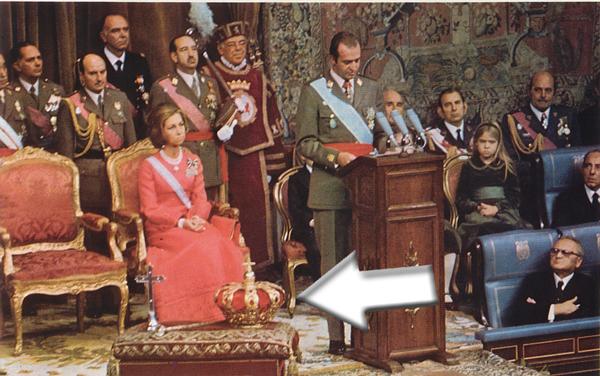 Coronacion de Juan Carlos I