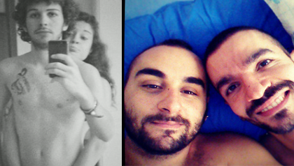aftersex selfie