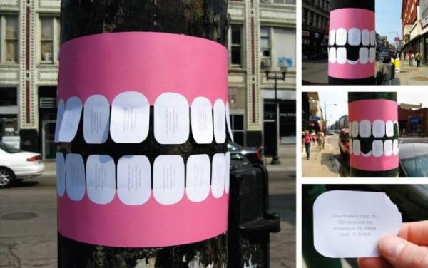 anuncio curioso dentista
