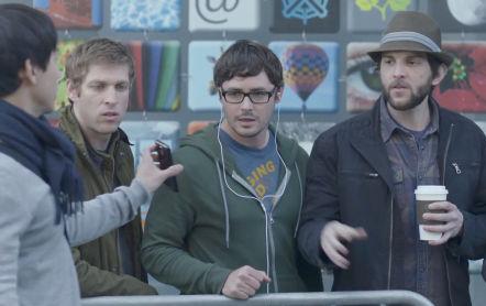 Hipsters y aplicaciones de smartphone