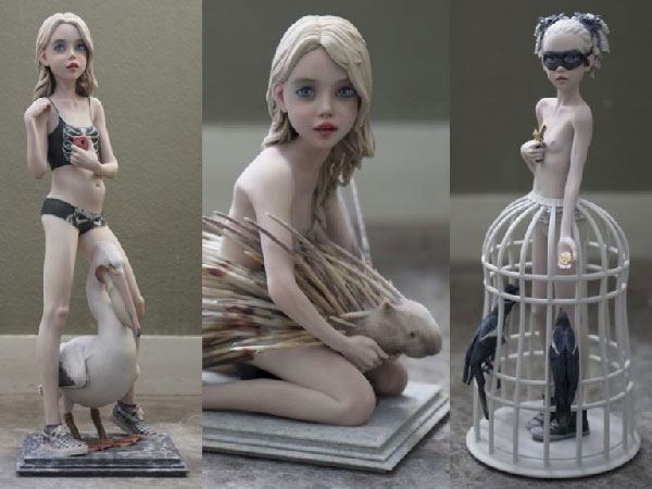 esculturas impresas en 3D