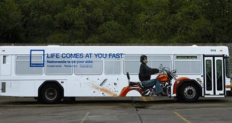 Original publicidad en autobuses