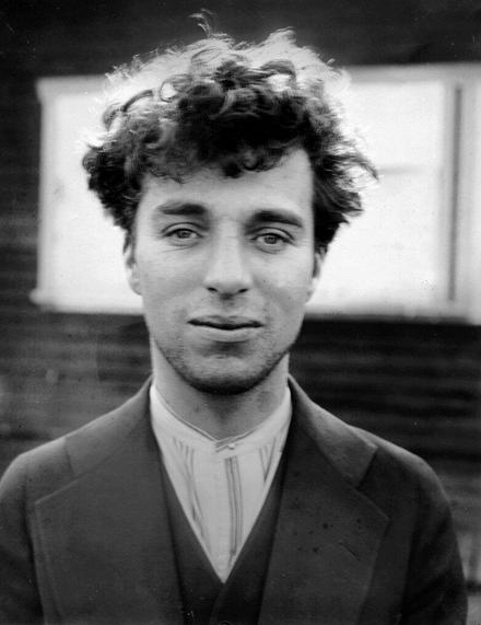 Charlie Chaplin joven