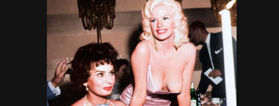 Sofia Loren y Kate Mansfield en color