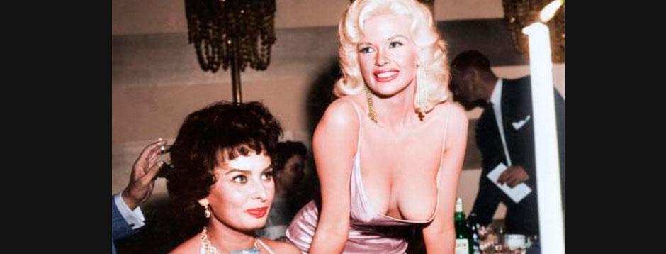 Sofia Loren y Kate Mansfield en color