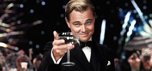 El Gran Gatsby es Leonardo di Caprio