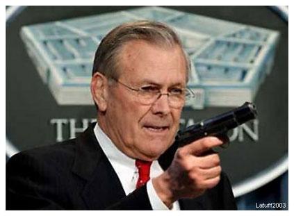 Donald Rumsfeld montaje