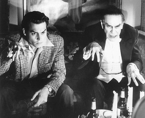"""Tim Burton recuperó y reivindicó la figura del Ed Wood en la película, homónima, que le dedicó en 1994. """"Biopic"""" extraordinario de obligada visión para conocer con detalle la vida del cineasta."""
