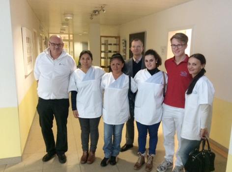 Enfermeras españolas en Alemania