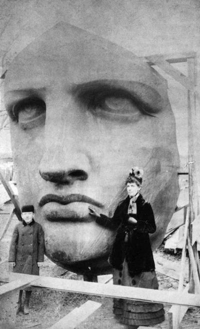 El rostro de la Estatua de la Libertad pertenece a la madre del escultor