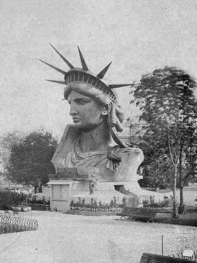 Estatua de la Libertad. Construccion