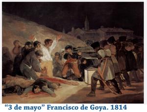 Fusilamientos del 3 de mayo de Goya