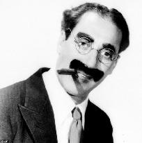 Groucho Marx en las redes sociales