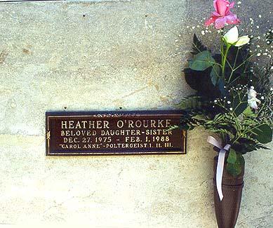 Heather O´Rourke Poltergeist