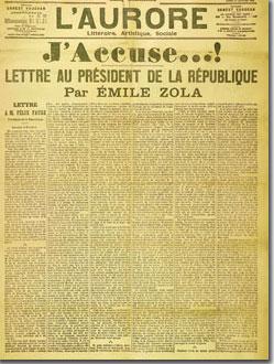 Yo Acuso, por Emile Zola