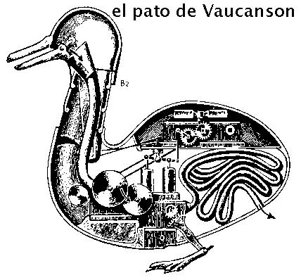 Vaucason, primera mascota robótica de la Historia, o el primer autómata