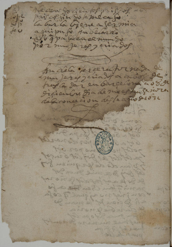Lope de Vega Manuscrito