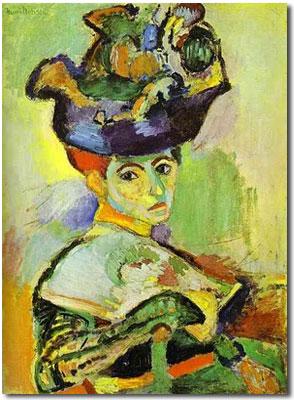 Matisse Mujer con Sombrero