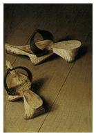 Matrimonio Arnolfini zapatos