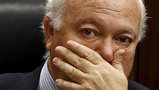 Miguel Ángel Moratinos, ni para irse tuvo huevos