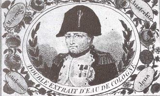 Napoleón en un anuncio