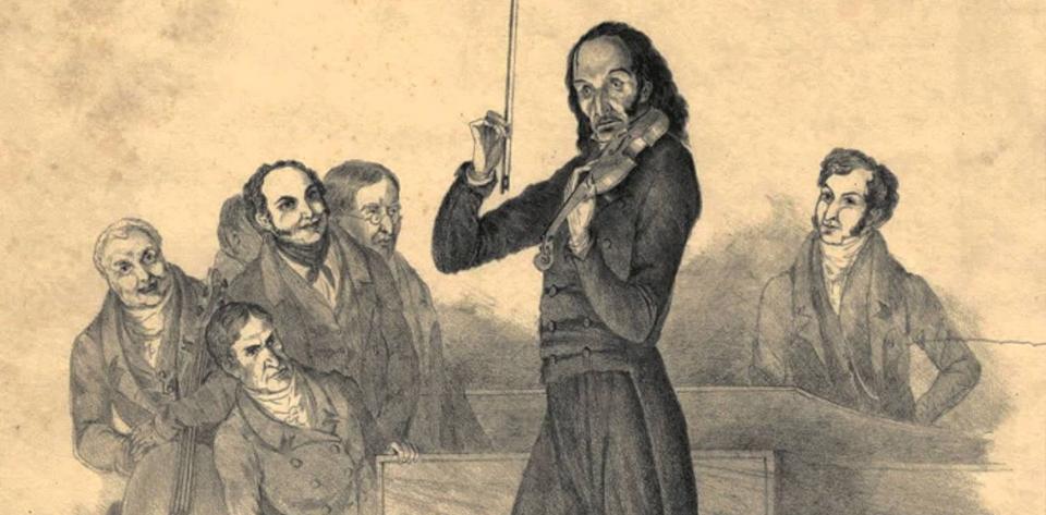 El violin misterioso de Paganini