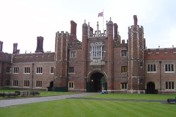 El palacio de Hampton Court
