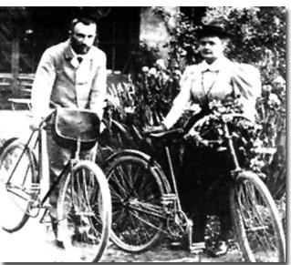 Marie Curie y Pierre