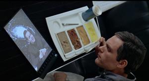 la primera tablet o tableta fue vista en 2001, una Odisea en el Espacio