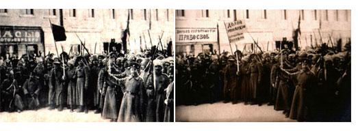 Revolución Rusa Foto trucada