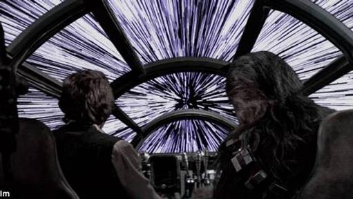 Rodaje La Guerra de las Galaxias