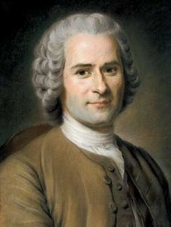 Jean Jacques Rousseau. Ilustración