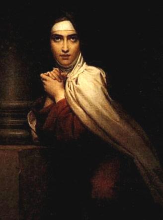 Santa Teresa, enterrada 15 dias después de fallecer