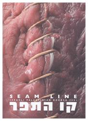"""""""Seam Line"""" Serigrafia. 180x120 Descripción de la trágica y dolorosa situación de la frontera israelo-palestina"""