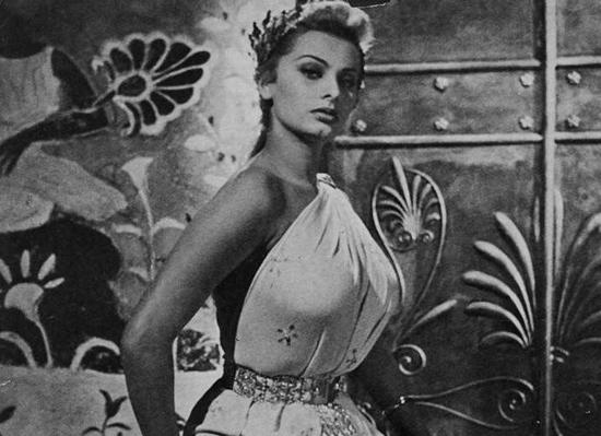Honoria es Sofia Loren
