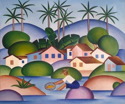 'Vendedor de Frutas'-1925 Tarsila do Amaral