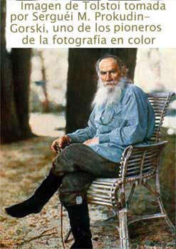 retrato de Tolstoi