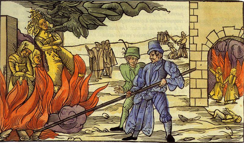 Tortura en la Hoguera