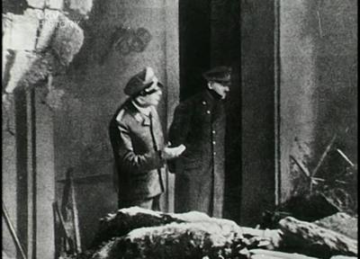 ultima fotografia de Adolf Hitler