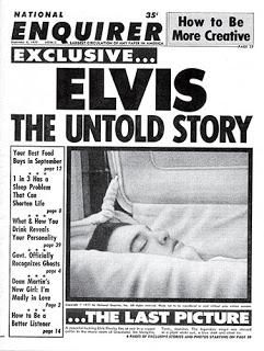 última imagen fotográfica tomada a Elvis Presley