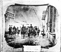 Entrada del ejército norteamericano en Saltillo