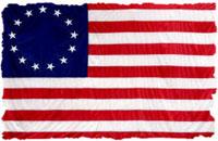 Bandera norteamericana de 13 estados